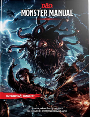 D&D Dungeons & Dragons Monster Manual (Core Rulebook)