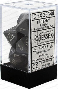 Chessex 7 Dice Speckled Hi Tech Dice