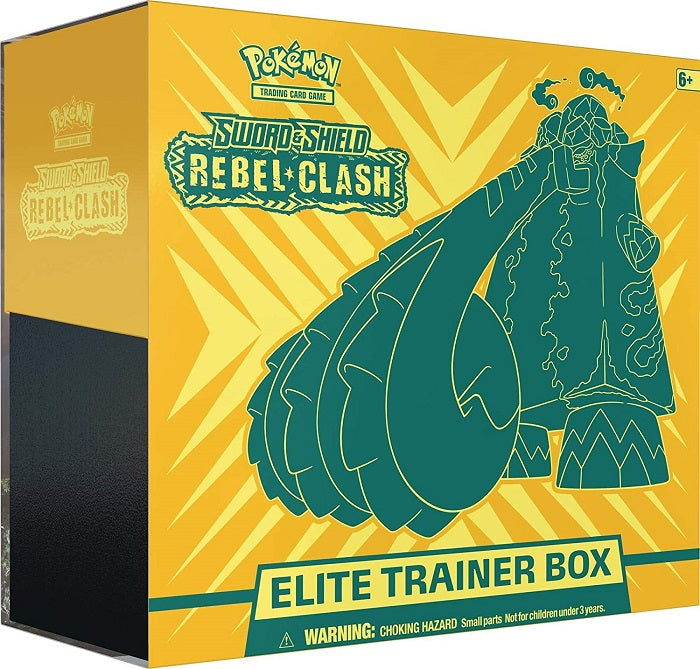Pokemon Sword & Shield Rebel Clash Elite Trainer Box