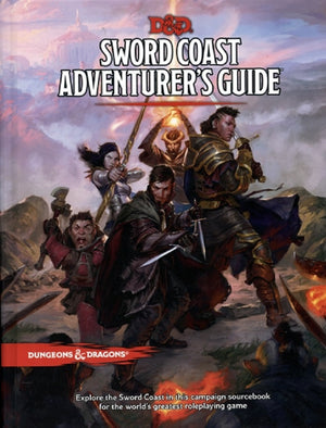D&D Dungeons & Dragons Sword Coast Adventurer's Guide