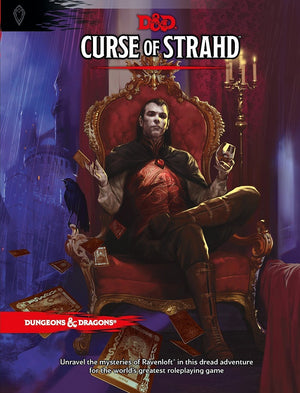 D&D Dungeons & Dragons Curse of Strahd