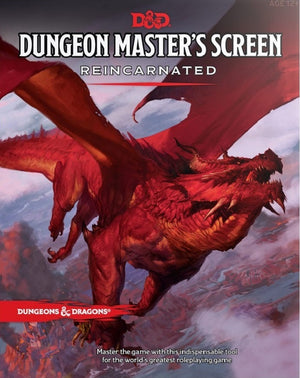 D&D Dungeons & Dragons Dungeon Master's Screen
