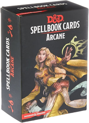 D&D Dungeons & Dragons Arcane Spellbook Cards