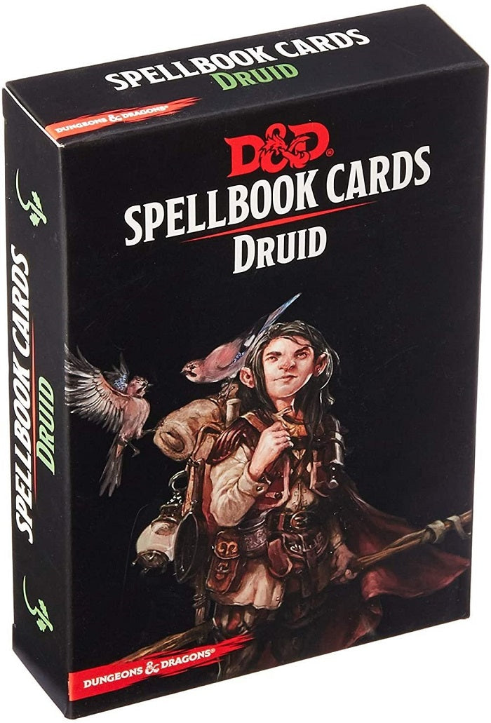 D&D Dungeons & Dragons Druid Spellbook Cards