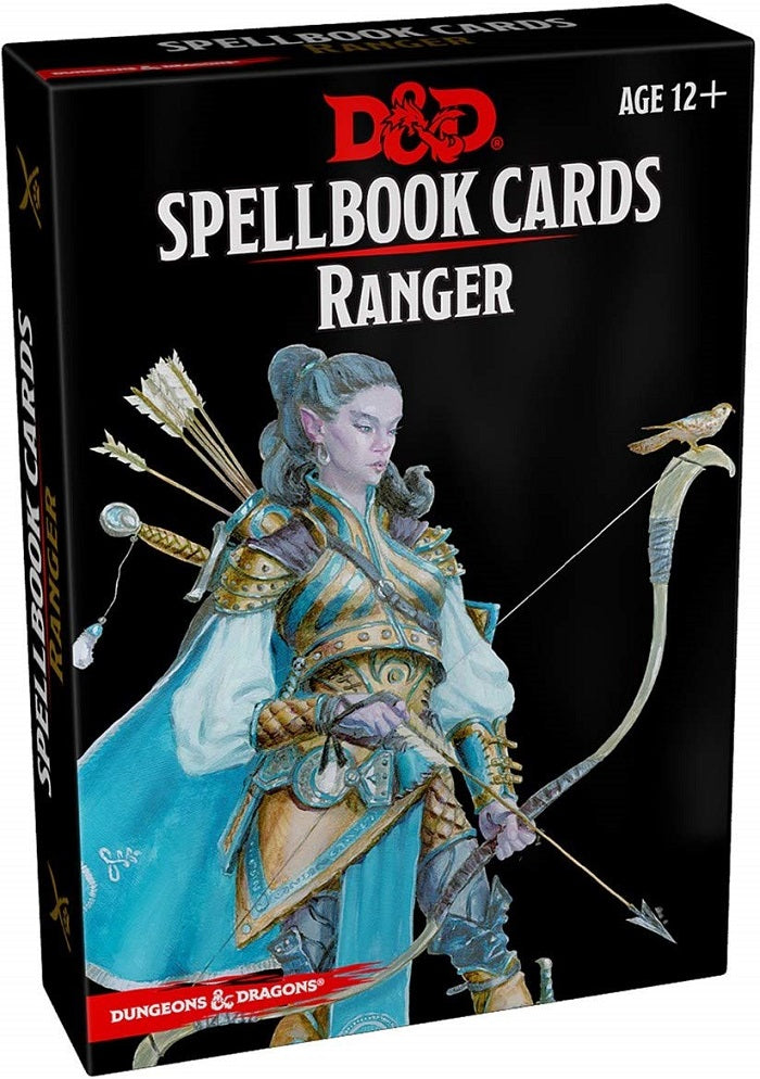 D&D Dungeons & Dragons Ranger Spellbook Cards
