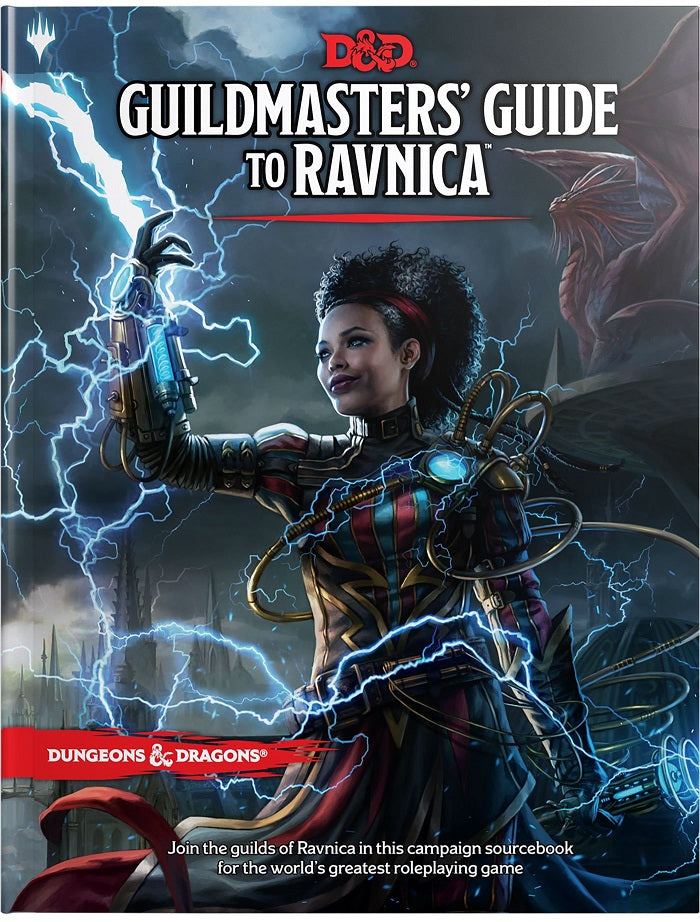 D&D Dungeons & Dragons Guildmaster's Guide to Ravnica