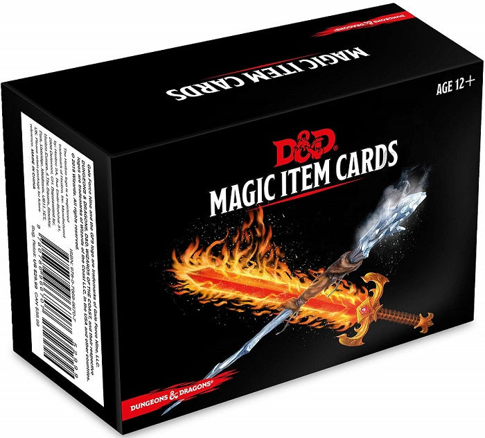 D&D Dungeons & Dragons Magic Item Cards