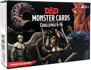 D&D Dungeons & Dragons Monster Challenge Cards 6-16