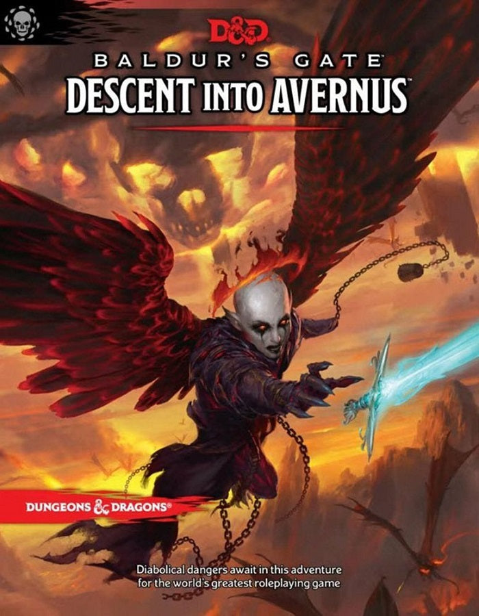 D&D Dungeons & Dragons Baldur's Gate Descent into Avernus