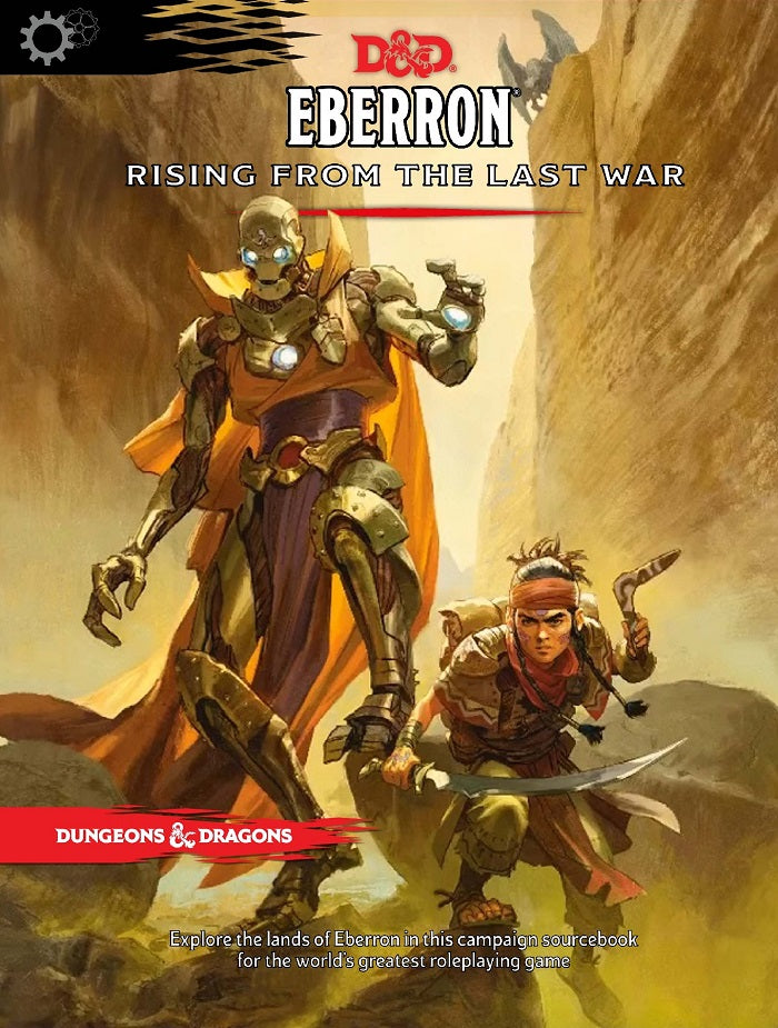 D&D Dungeons & Dragons Eberron Rising form the Last War