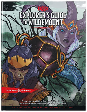 D&D Dungeons & Dragons Explorer's Guide to Wildemount