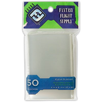 "FF Standard American Board Game Sleeves 50 ""GREEN"""