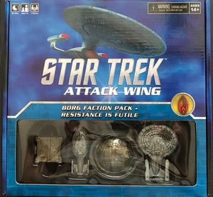 Star Trek Attack Wing  Borg Faction
