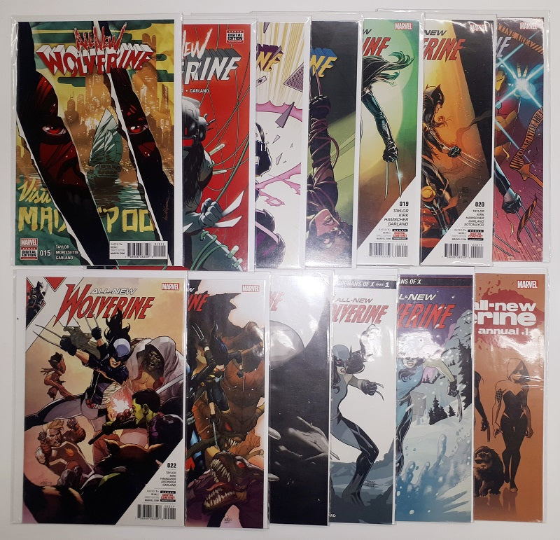 All-New Wolverine #1 to # 26 plus ANN.  High Grade Set
