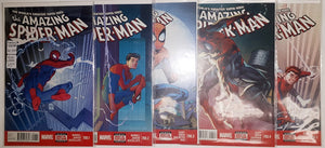 Amazing Spider-Man 700.1 to 700.5 High Grade Set