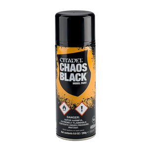 Chaos Black Spray Primer
