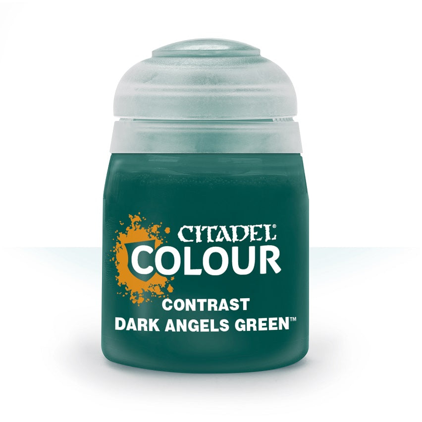 Dark Angels Green Contrast Paint