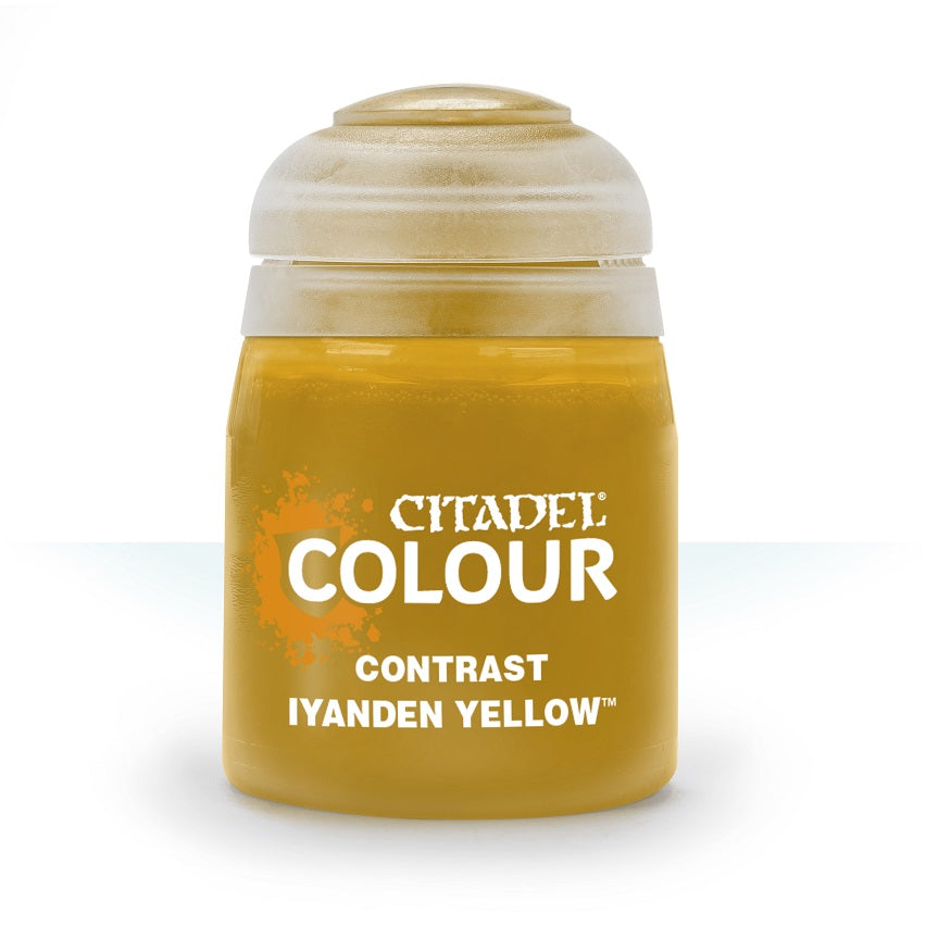 Iyanden Yellow Contrast Paint | Game Master's Emporium (The New GME)
