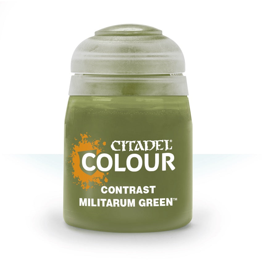 Militarum Green Contrast Paint