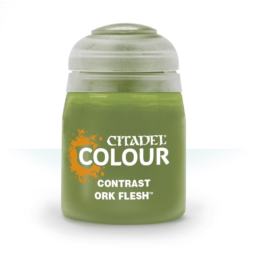 Ork Flesh Contrast Paint | Game Master's Emporium (The New GME)