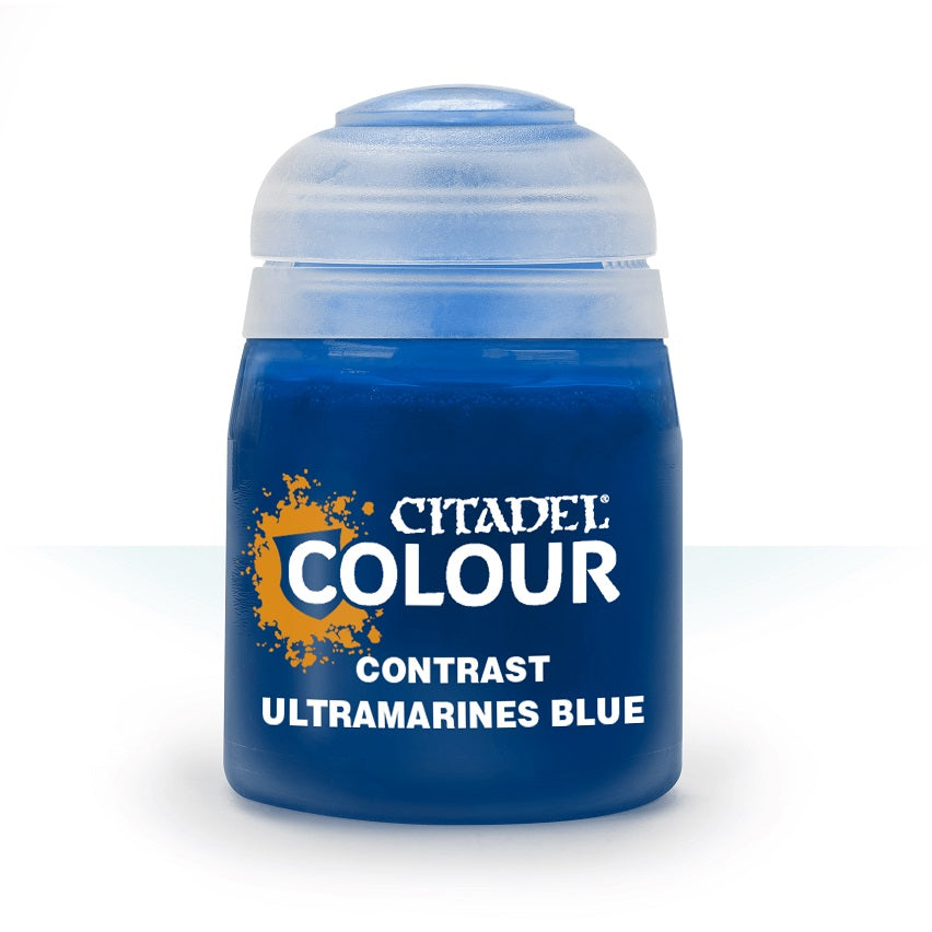 Ultramarines Blue Contrast Paint