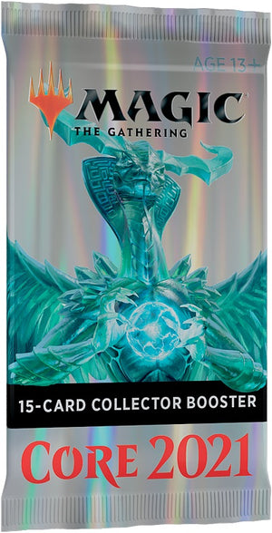MTG Core 2021 Single Collector Booster Pack