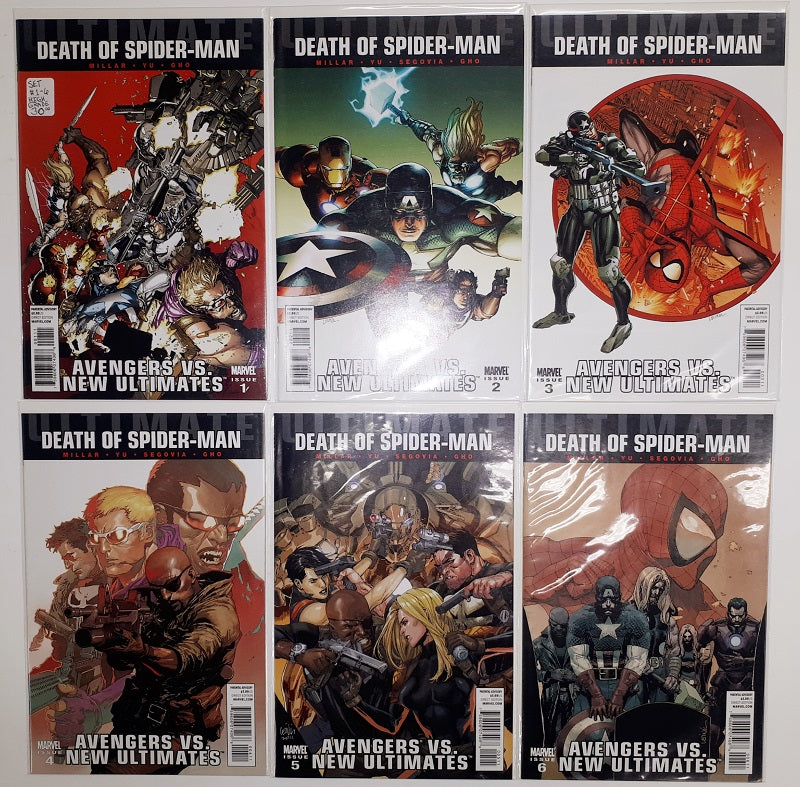 Death of Spider-Man #1 to #6  High Grade Set | Game Master's Emporium (The New GME)