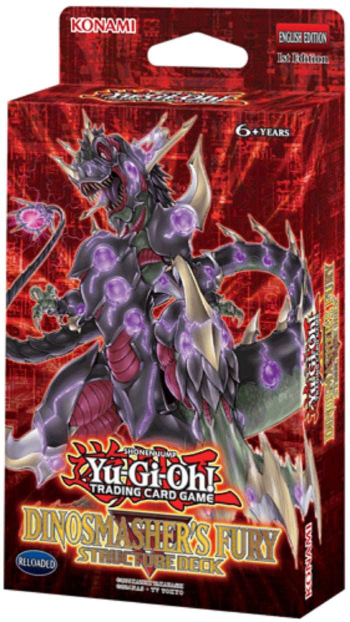 YuGiOh  Dino Smasher Structure Deck (re-release)