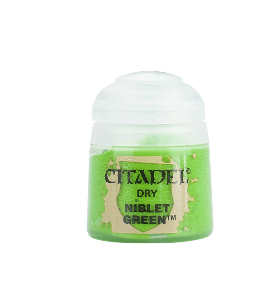 Niblet Green Dry Paint