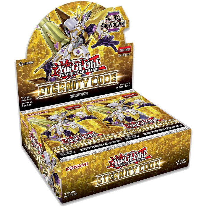 YuGiOh  Eternity Code Booster Box