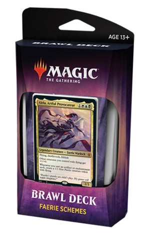 MTG Throne of Eldraine Faerie Schemes Brawl Deck