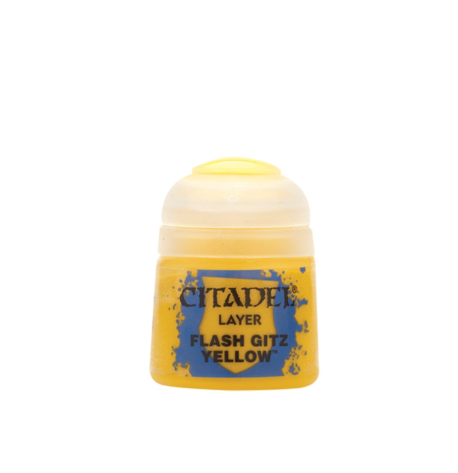 Flash Gitz Yellow Layer Paint