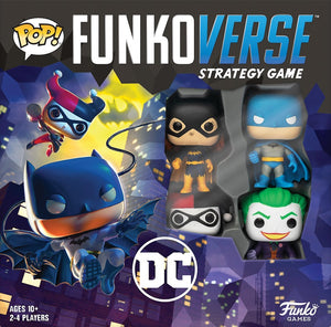 Funkoverse Strategy Game  DC Batman