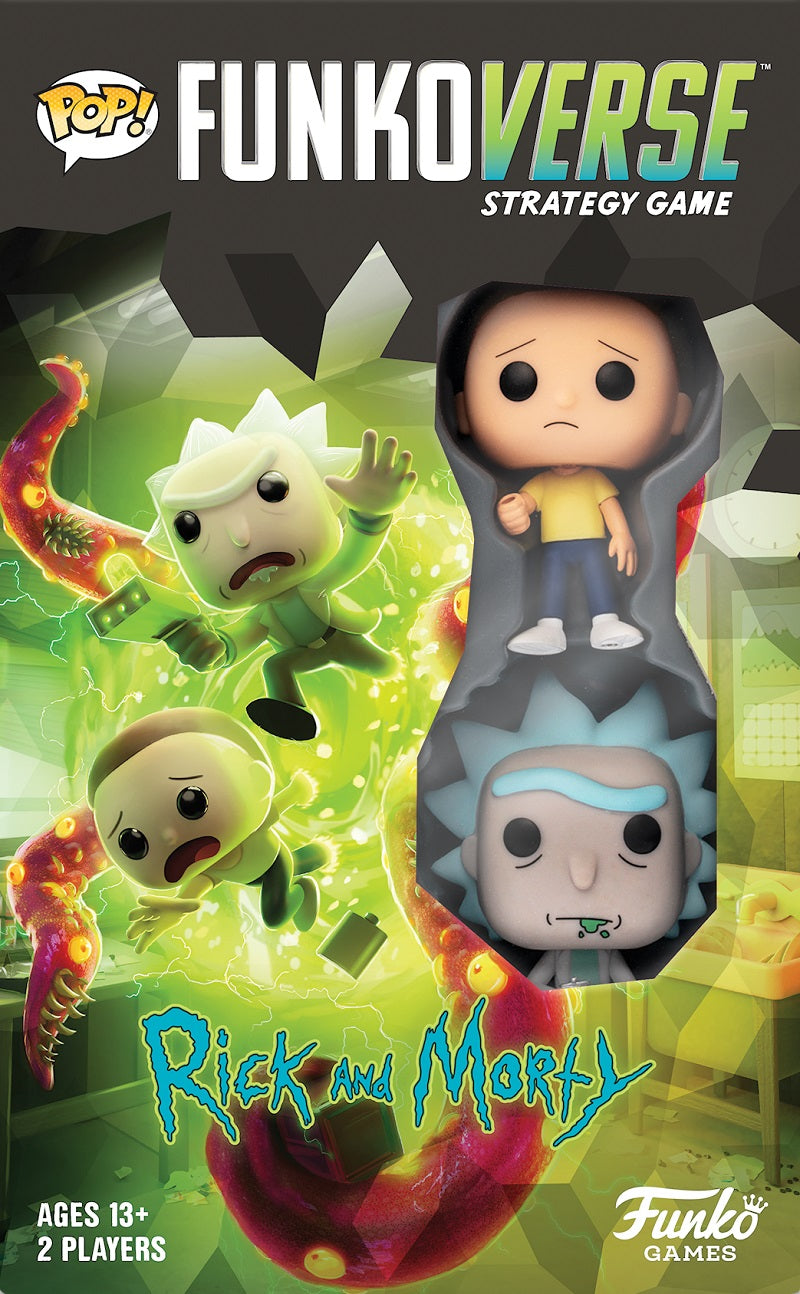 Funkoverse Strategy Game  Rick and Morty | Game Master's Emporium (The New GME)