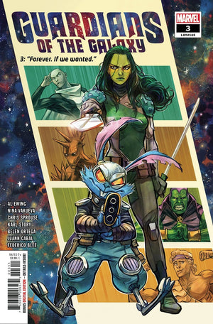 GUARDIANS OF THE GALAXY #1 to #3