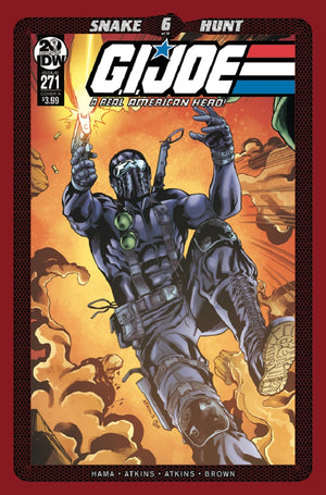 GI JOE A REAL AMERICAN HERO #271 CVR A ATKINS (C: 1-0-0)