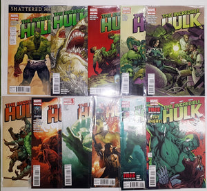 Incredible Hulk (2011)  #1 to #10 plus #7.1  High Grade