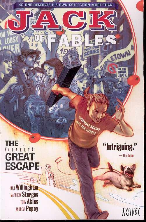 JACK OF FABLES TP VOL 01 NEARLY GREAT ESCAPE (MR)