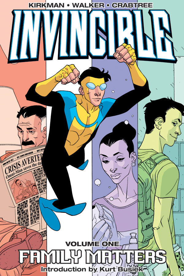 INVINCIBLE TP VOL 01 FAMILY MATTERS | Game Master's Emporium (The New GME)