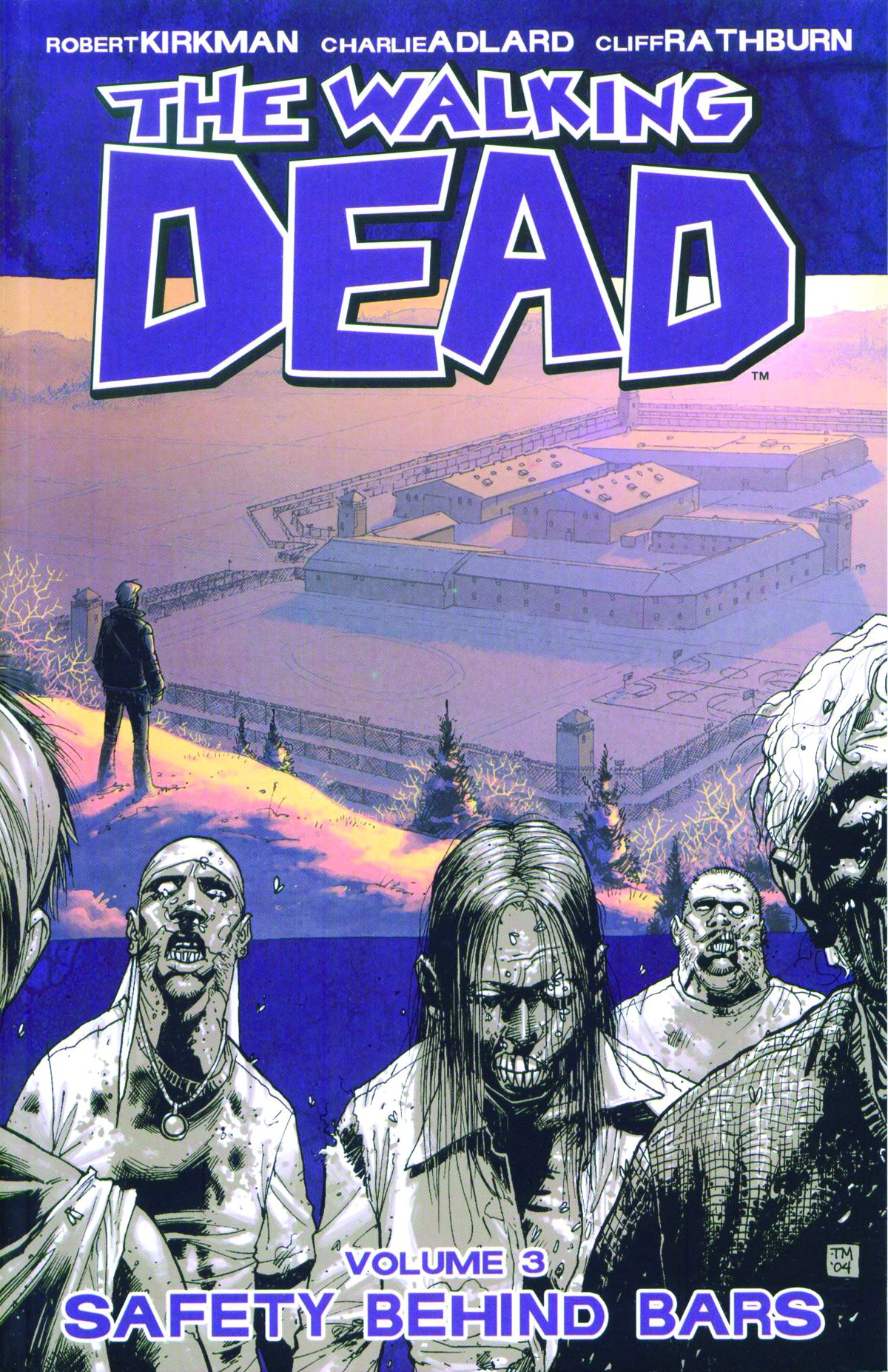 WALKING DEAD TP VOL 03 SAFETY BEHIND BARS | Game Master's Emporium (The New GME)