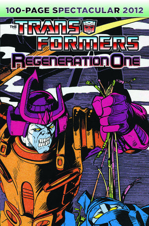 TRANSFORMERS REGENERATION ONE 100 PG SPECTACULAR