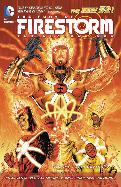 FURY OF FIRESTORM NUCLEAR MEN TP VOL 01 GOD PARTICLE | Game Master's Emporium (The New GME)