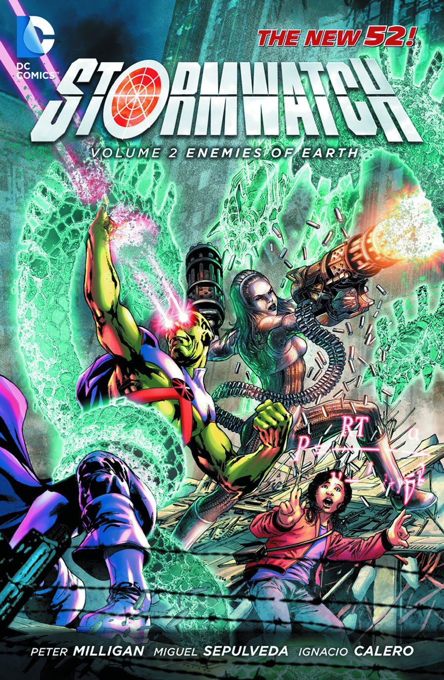 STORMWATCH TP VOL 02 ENEMIES OF THE EARTH (N52) | Game Master's Emporium (The New GME)