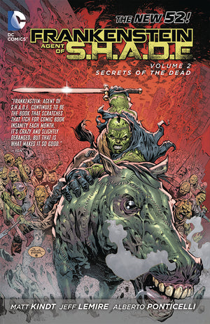 FRANKENSTEIN AGENT OF SHADE TP VOL 02 SECRETS DEAD (N52)
