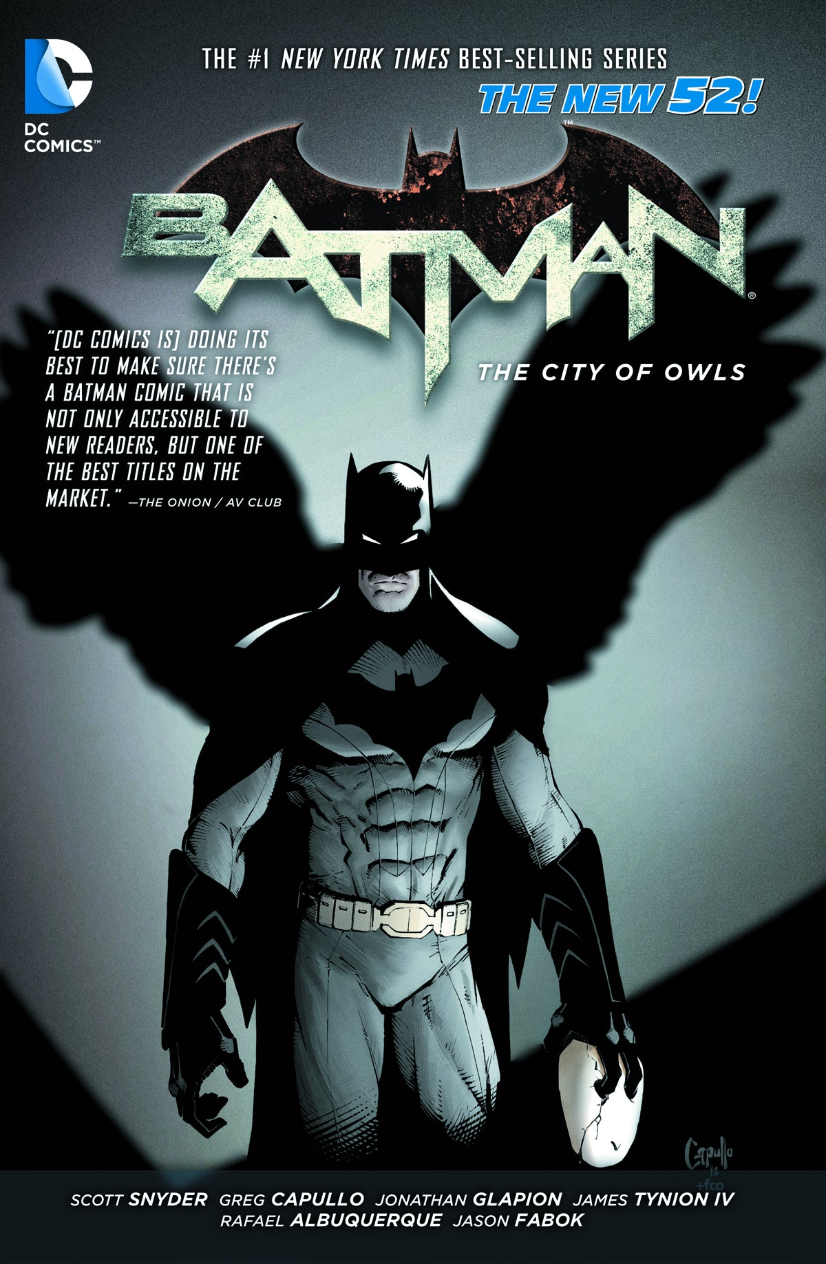 BATMAN TP VOL 02 THE CITY OF OWLS (N52) | Game Master's Emporium (The New GME)