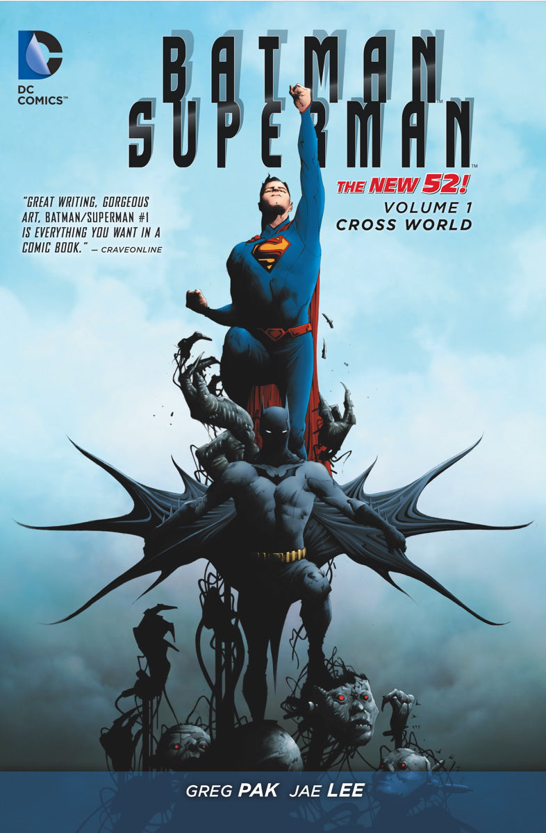 BATMAN SUPERMAN HC VOL 01 CROSS WORLD (N52) | Game Master's Emporium (The New GME)