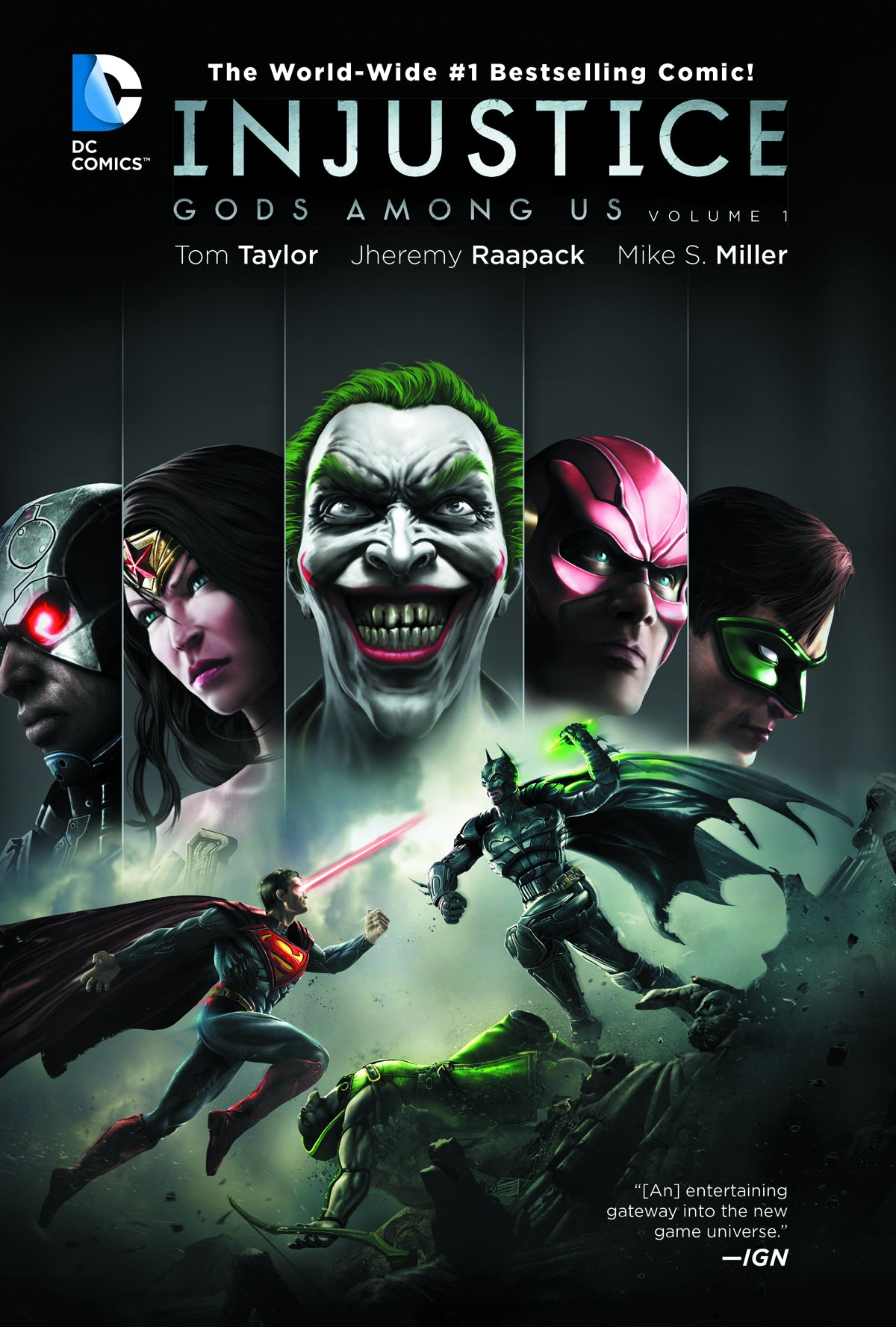 INJUSTICE GODS AMONG US TP VOL 01 | Game Master's Emporium (The New GME)