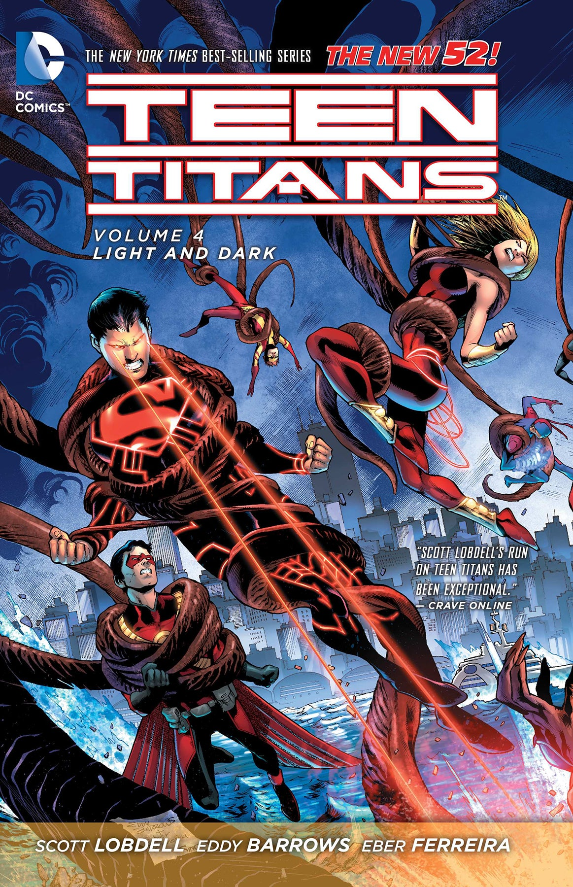 TEEN TITANS TP VOL 04 LIGHT AND DARK (N52) | Game Master's Emporium (The New GME)