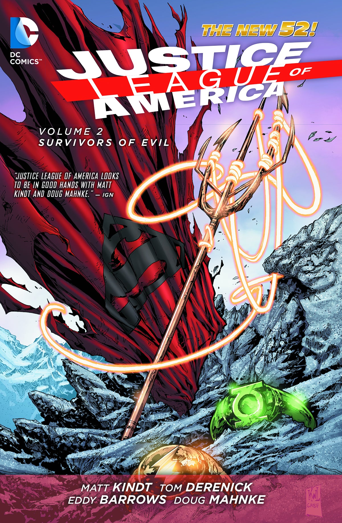 JUSTICE LEAGUE OF AMERICA TP VOL 02 SURVIVORS OF EVIL (N52) | Game Master's Emporium (The New GME)