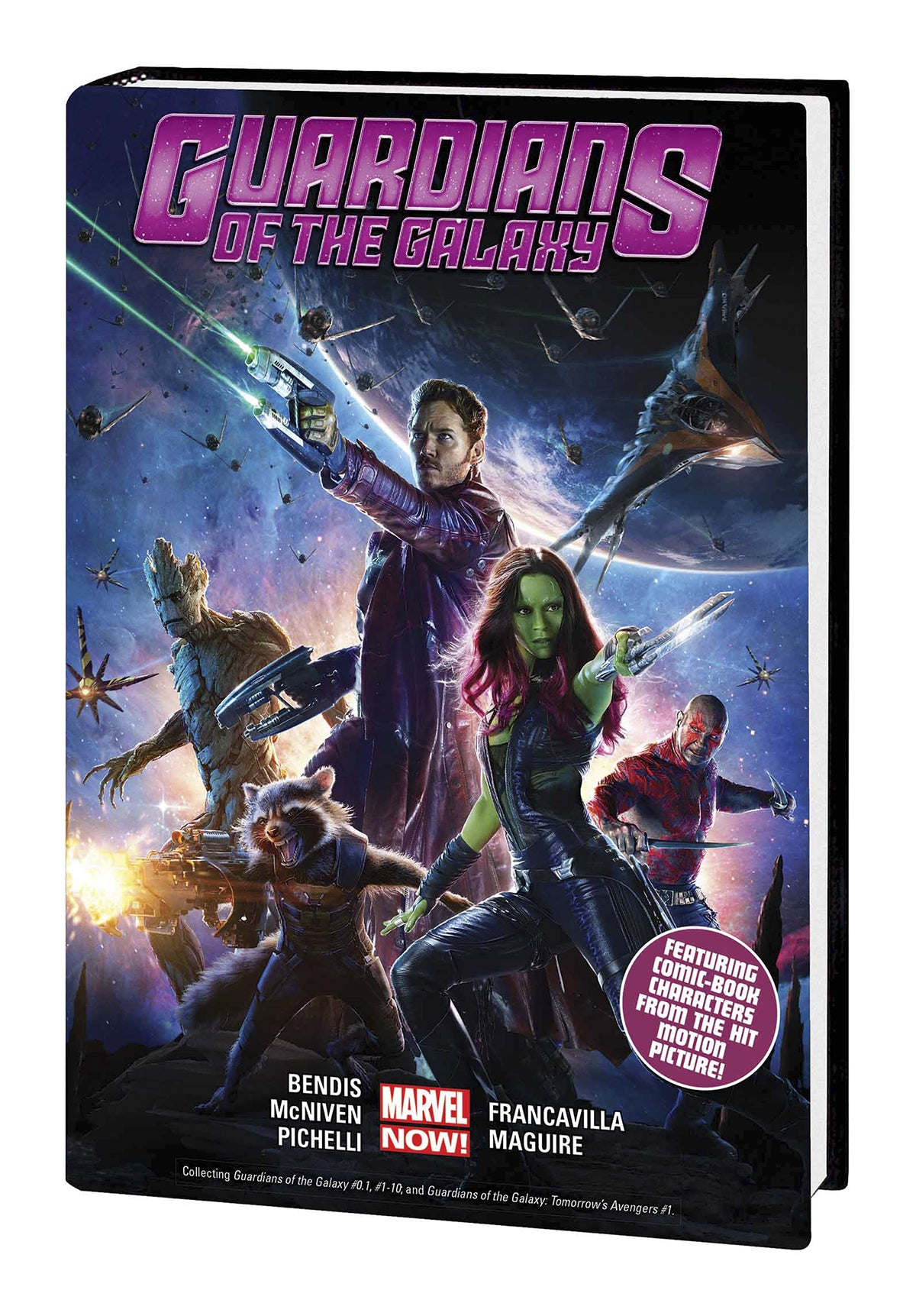 GUARDIANS OF GALAXY HC VOL 01 MOVIE CVR | Game Master's Emporium (The New GME)